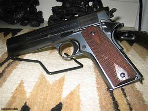 Colt 1911 Government In 45acp  Commercial Model