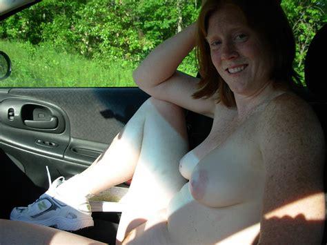 Flashing Big Tits Inside Cars - PornHugo.Com