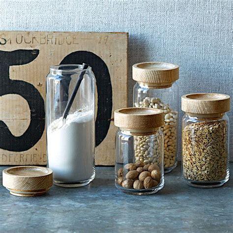 wooden kitchen storage jars stylish food storage containers for the modern kitchen 1646