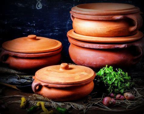 cooking traditional pots utensils pot earthen indian india kitchen tourdefarm rural recipes deep experience