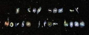 Intergalactic A To Z  Volunteers Find Galaxies Shaped Like