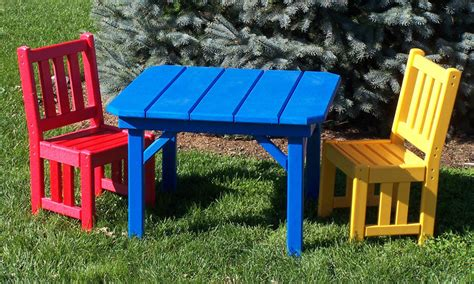 kids outdoor table and chairs childrens outdoor furniture for your kids growth