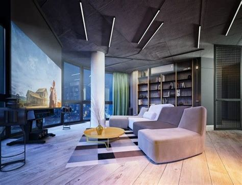 3 Stylish And Industrial Inspired Loft Interiors by 3 Stylish Industrial Inspired Loft Interiors Living Room