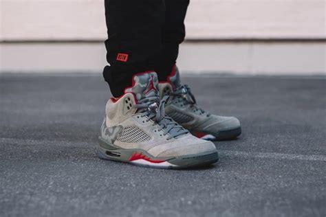 The Air Jordan 5 Camo Debuts This Weekend •