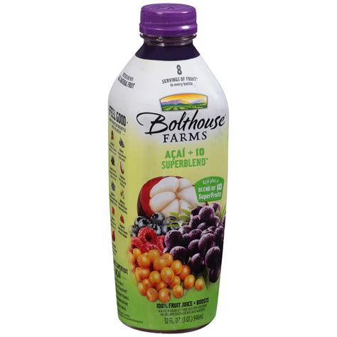Boat House Farms by Bolthouse Farms 174 Green Goodness 174 100 Fruit Juice Smoothie