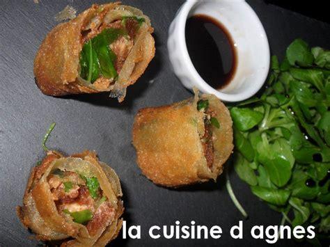 la cuisine d agnes nems de foie gras au d 39 épice la cuisine d 39 agnèsla
