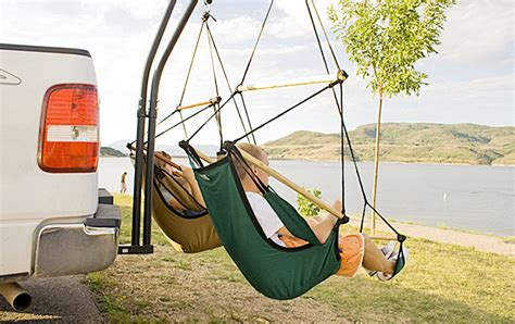 trailer hitch hammock set   camping hammock