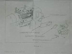 Sears Parts    631304b Genuine Tecumseh Hh100  U0026 Hh120 Carburetor W  Fuel Line Bolens Sears