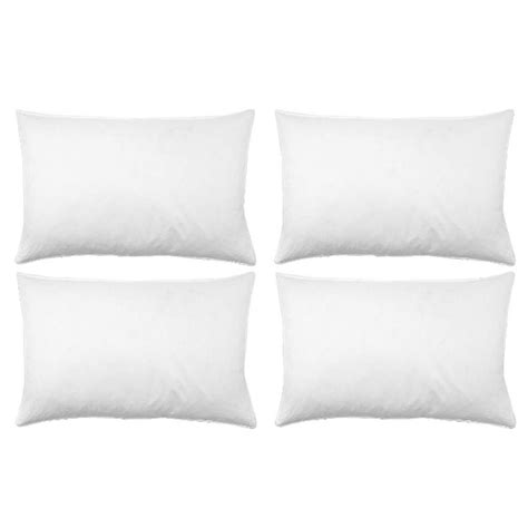 soft bed pillows soft bed pillows 4 pack buy at qd stores