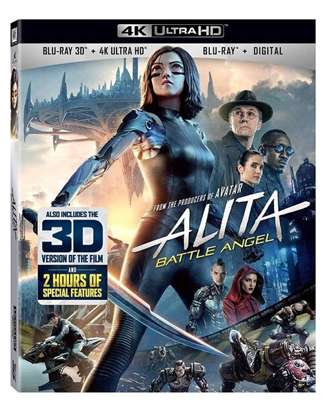 alita battle angel digital july   uhd blu ray