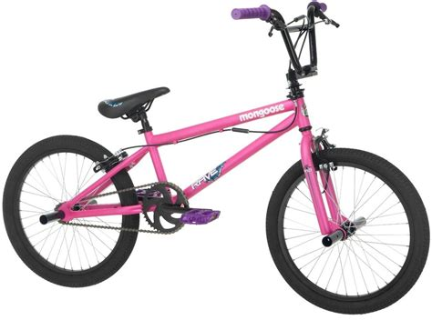 Mongoose Girl's Rave R10 Freestyle Bike, 20inch, Matte