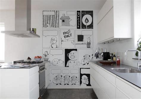 carta parati cucina lavabile cucina a vista cucina da esibire architettura e design