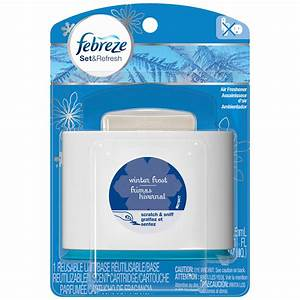 Febreze Set&Refresh Winter Frost Air Freshener 1 CT PEG ...
