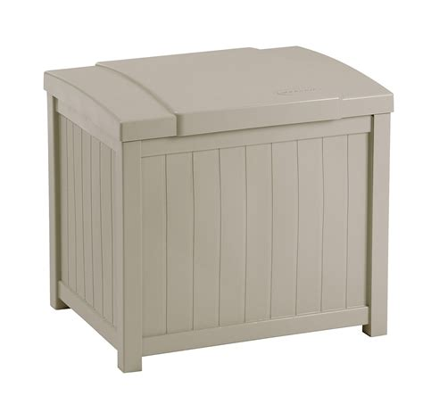 suncast 22 gallon deck box suncast 22 gallon deck box outdoor living patio
