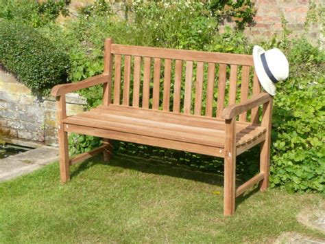 top quality humber teak foot london park bench patio