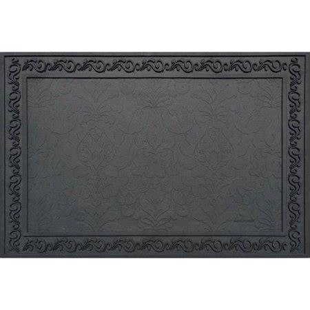 24 x 36 doormat heavy duty 24 x 36 inch rubber door mat tray walmart