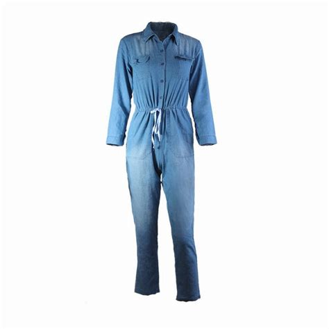 plus size denim jumpsuits adogirl denim overalls plus size 3xl bodycon