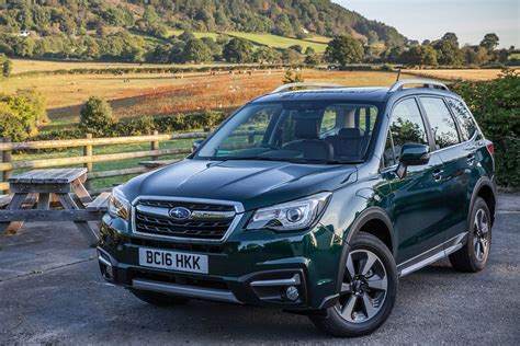 subaru forester special edition revealed auto express