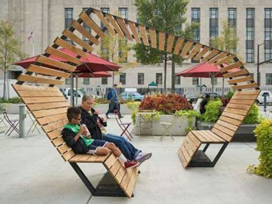 impressive urban public seating designs pavilion