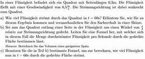 Vektoren Geschwindigkeit Berechnen : volumen volumen eines geeigneten spats textaufgabe mathelounge ~ Themetempest.com Abrechnung