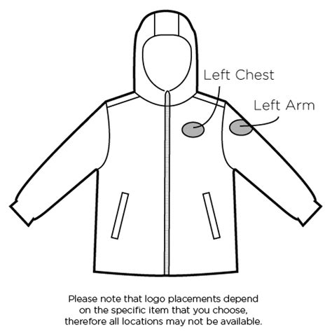 left chest logo placement template index of cdn 14 1994 44