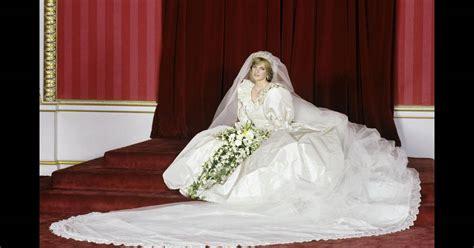 lady diana dans sa robe de mariage imaginee par elizabeth