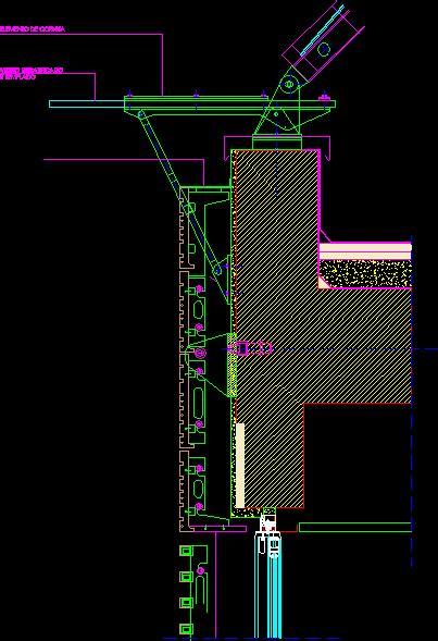 bipielle center renzo piano facade details dwg detail for autocad designs cad