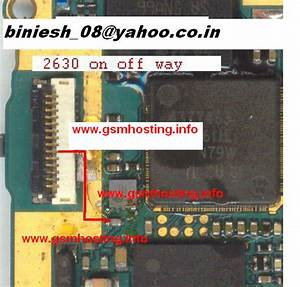 Cellfirmware  Nokia 2630 On Off Button Ways Jumpers