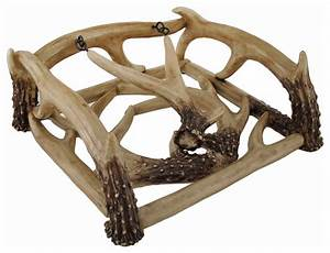 whitetail deer antlers decorative napkin holder rustic With kitchen colors with white cabinets with deer antler candle holders