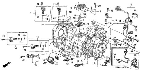 Honda Pilot Engine Diagram Transmission by 2004 Honda Pilot Me That It Is The 3rd Or 4th Gear