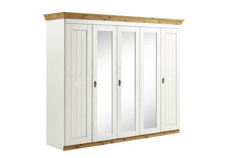 Kleiderschrank Landhausstil Weiß 5türig Harri Von Harri
