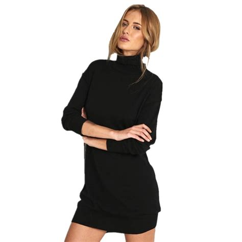 Autumn Winter Women Velvet Turtleneck Bodycon Evening
