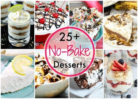 25 easy no bake desserts healthy easy