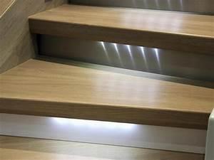 Kit Led Escalier : led pour escalier un clairage tendance et s curis ~ Melissatoandfro.com Idées de Décoration
