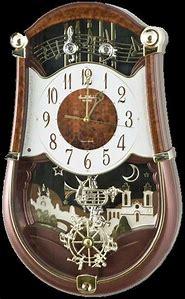 Small World Rhythm Musical Clock
