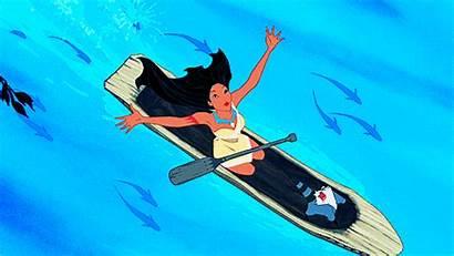 Disney Pocahontas He Reto Princess Gifs River