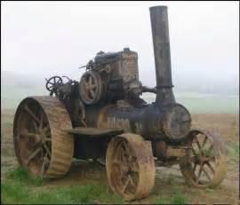 Steam-Powered Farm Tractor