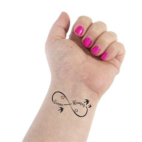 infinity tattoo wedding tattoo couple tattoo infinity etsy