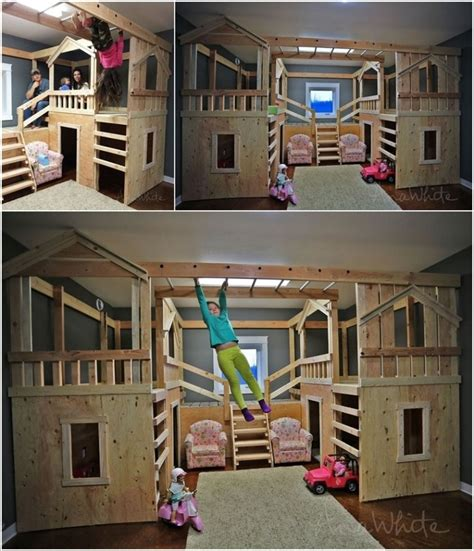 cool diy bunk bed ideas  kids     coolest