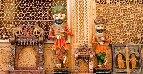 rajasthani woodwork ethnic wooden handicrafts