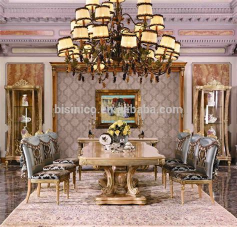 Royal Dining Room Sets by Bisini Furniture Luxury Long Dining Table For Big Family