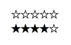 star ratings    css css tricks