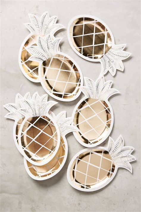 home decorative accessories pineapple home decor popsugar home