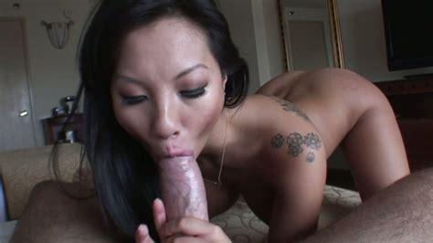 Hot as fire Asian mommy Asa Akira gives head to Manuel Ferrara