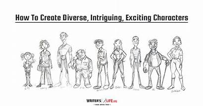 Characters Create Diverse Intriguing Exciting