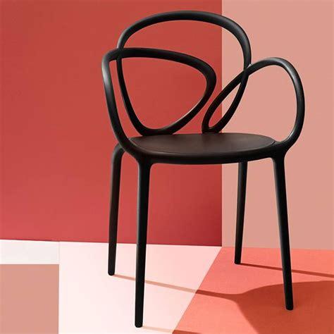 Design Sedie Loop Chair Sedia Di Design Qeeboo In Polipropilene