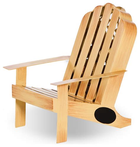 adirondack chair cork caddy contemporary adirondack