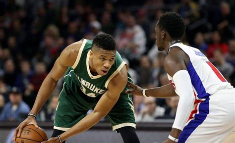 NBA Detroit Pistons vs Milwaukee Bucks Spread and ...