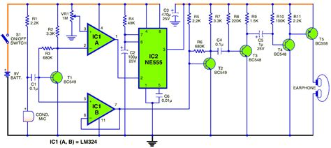 simple walkie talkie circuit diagram pdf circuit diagram