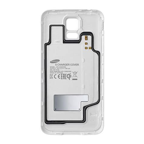 Samsung Lade Led by Samsung Lade Cover Ep Cg900 Weiss F 252 R Samsung Galaxy S5